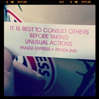 Photo taken at Panda Express by Purple D. on 9/5/2013