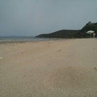 Photo taken at Beach Punta Ala by Sergey P. on 5/22/2014
