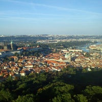Photo taken at Petřín Lookout Tower by Ilaria R. on 9/30/2012