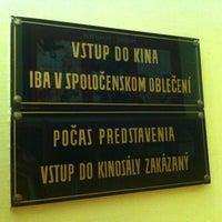 Снимок сделан в Kino Úsmev пользователем Jiri S. 7/22/2013