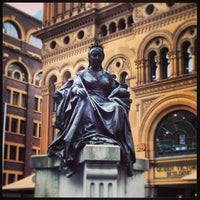 Photo taken at Queen Victoria's Statue by Luca M. on 2/11/2013