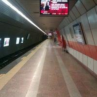 Photo taken at Levent Metro İstasyonu by Enes K. on 1/11/2013