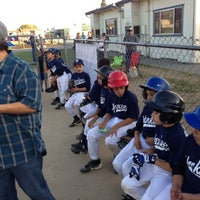 Photo taken at Alum Rock Little League Fields by Marshall S. on 4/26/2013