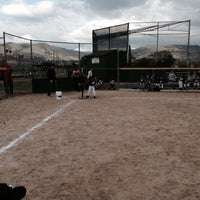 Photo taken at Alum Rock Little League Fields by Marshall S. on 3/28/2014