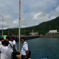 Photo taken at Pelabuhan Tagulandang by Hariady B. on 11/20/2012