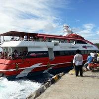Photo taken at Pelabuhan Tagulandang by Hariady B. on 11/23/2012
