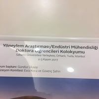 Foto scattata a Sabanci Universitesi Yonetim Bilimleri Fakultesi da Zeynep Ö. il 11/2/2017
