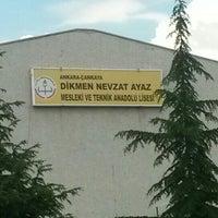Photo taken at Dikmen Nevzat Ayaz Kız Teknik ve Meslek Lisesi by Barış A. on 6/6/2016