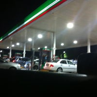 Photo taken at OXXO Gas by Vic V. on 1/10/2013