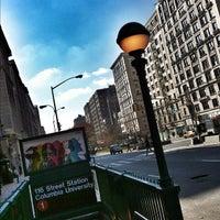 Photo taken at MTA Subway - 116th St/Columbia University (1) by Eduard M. on 11/23/2012