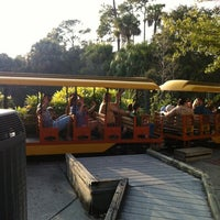 Photo taken at Train At The Brevard Zoo by Dante L. on 1/3/2013