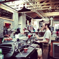 Photo taken at Four Barrel Coffee by Evonne & Darren W. on 4/6/2013