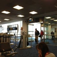Photo taken at Gate D10 by Stephen Michael F. on 2/25/2013