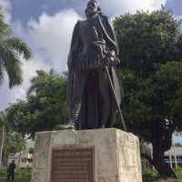 Photo taken at Juan Ponce de Leon Statue by Stephen Michael F. on 4/19/2013