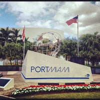 Photo taken at PortMiami by Stephen Michael F. on 12/1/2012