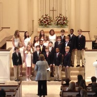 Photo taken at Trinity Presbyterian by Andreas P. on 5/24/2013