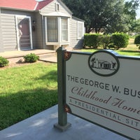 Photo taken at Geoge W Bush Childhood Home by Brett H. on 8/28/2017