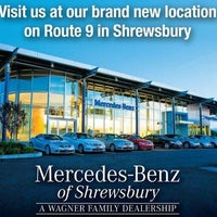 Photo taken at Wagner Mercedes-Benz of Shrewsbury by Jayson W. on 5/2/2013