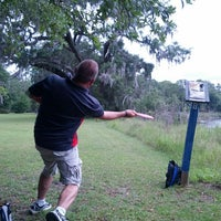 Photo taken at Honey Creek Disc Golf Course by Stephen F. on 7/1/2013