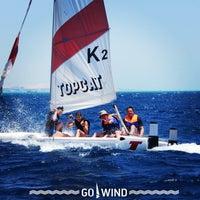 Снимок сделан в Go!Wind. Windsurfing & Kitesurfing School пользователем Olesya B. 7/1/2013