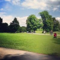 Photo taken at Englischer Garten by Dennis D. on 6/30/2013