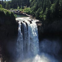Photo taken at Snoqualmie Falls by Neha A. on 7/3/2013