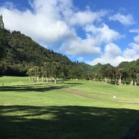 Photo taken at Oahu Country Club by Kevin K. on 10/10/2016