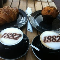 Photo taken at Cafe Vergnano 1882 by A❤️A on 12/31/2012