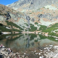 Photo taken at Velické pleso by Jan S. on 10/26/2013