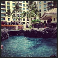 Photo taken at Marriott's Ko Olina Beach Club by Rex G. on 6/11/2013