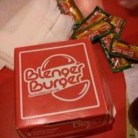 Photo taken at Blenger Burger by iqranegara on 11/27/2014
