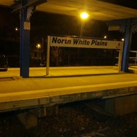 Photo taken at Metro North - North White Plains Station by Dan G. on 11/25/2012