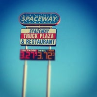 Photo taken at Spaceway Truck Plaza by Bruno A. on 10/29/2012