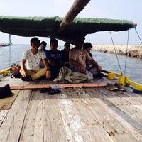 Photo taken at Pelabuhan Mayangan by Satria W. on 3/17/2014
