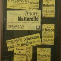 Photo taken at MATTARELLO - Pizzeria Forno a Legna by Massimo on 9/18/2012