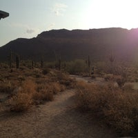 Photo taken at Usery Mountain Regional Park by Teresa E. on 6/30/2013