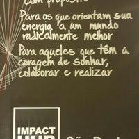 Photo taken at Impact Hub São Paulo by Maximilian d. on 4/25/2016