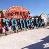 Photo taken at The Neon Museum by Allison K. on 4/13/2014