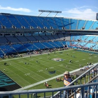 Photo taken at Bank of America Stadium by Allison K. on 11/11/2012
