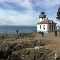 Photo taken at Lime Kiln Point State Park by Kate H. on 9/5/2016