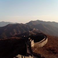 Photo taken at Great Wall at Mutianyu by Electronica M. on 11/20/2012