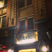 Photo taken at Fabric by Kyo N. on 2/16/2013