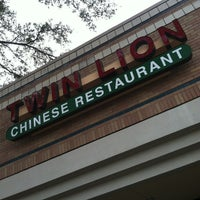 Photo taken at Twin Lion Chinese Restaurant by Jason L. on 1/29/2013