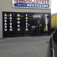 Photo taken at MS Recycling by Amy A. on 5/7/2013