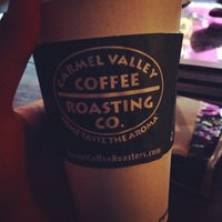 Photo taken at Carmel Valley Coffee Roasting Co by Mark J. on 10/19/2013