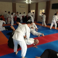 Photo taken at UAO Mersin Dojo by Hürşat E. on 1/27/2013