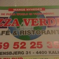 Photo taken at Pizza Verden by Jonas N. on 1/22/2013