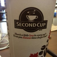 Photo taken at Second Cup by Farzad S. on 6/1/2013