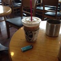 Photo taken at TOM N TOMS COFFEE by juhee J. on 10/5/2014