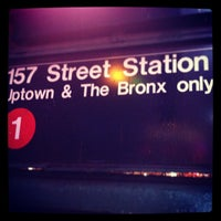 Photo taken at West 156 Street by Jex X. on 12/18/2012
